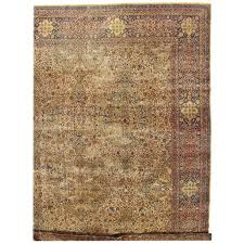 Antique Oriental Rugs For Sale Antique Persian Kerman Carpet Oriental Rug Handmade Ivory Gold