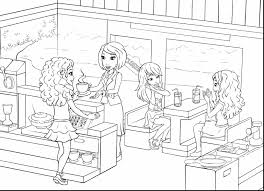 unbelievable coloriage lego friends colorier dessin imprimer with