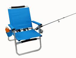 Ultra Light Folding Chair Light Backpack Fishing Chair Sky Blue