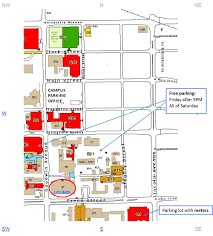 Uiuc Campus Map Parking Near Loomis Laboratory Of Physics University Of Illinois