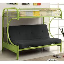 White Futon Bunk Bed Uncategorized Futon Bunk Bed For Stunning Bunk Beds