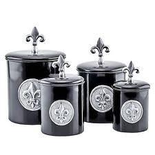 fleur de lis canisters for the kitchen fleur de lis canisters ebay