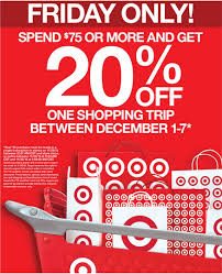target black friday get a 20 off target purchase coupon on black friday thesuburbanmom