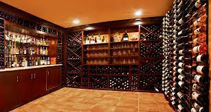 Wine Cellar Shelves - architecture luxury wine cellar bar design with floor tile