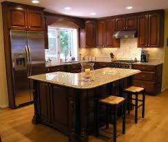 flooring azul platino granite with dark paint kitchen cabinet and