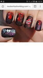 13 besten halloween nail designs bilder auf pinterest junge