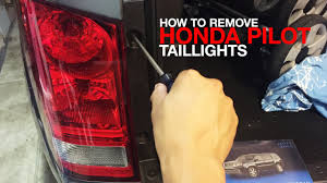 honda pilot tail light how to remove replace honda pilot taillight assembly 2nd