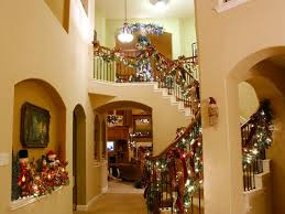 Decorating Banisters For Christmas Our Favorite Holiday Ideas From Rate My Space Diy