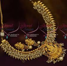 kerala style earrings nl11634 kerala style south indian pearl danglers temple jewellery