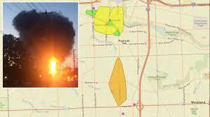 Detroit Edison Outage Map Dte Map Citywide Blackout 12 2 2014 Dte Blue Loop Michigan Maps