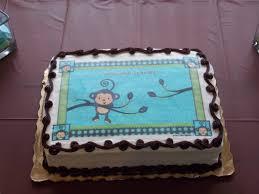 monkey baby shower cake home design