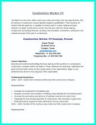Construction Worker Resume Examples And Samples Construction Labor Resume Resume Cv Cover Letter