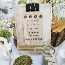 idee menu mariage céline laurent organisation de mariage bohème chic label