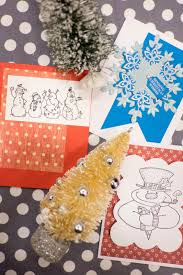 domestic fashionista moms group christmas card making