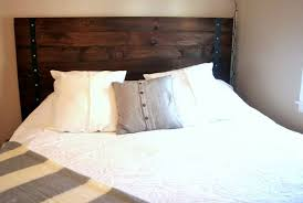 good rustic headboards on queen rustic headboard farmhouse painted