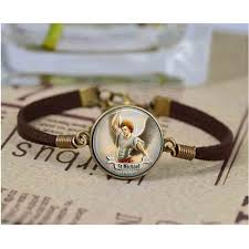 st michael bracelet st michael bracelet bracelet st michael jewelry gift