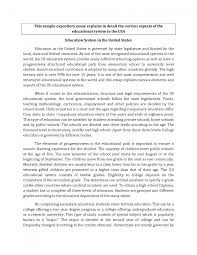 informative essay samples example of expository essay writing template example of expository essay writing