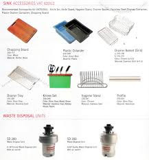 Kitchen Sink Accessories Waste Disposal Units Philippines - Kitchen sink accessories