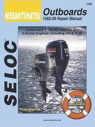 nissan outboard motor engine repair manual 1500