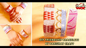 diy friendship bracelets how to make a hand band with popsicle