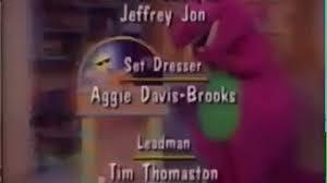 Credits To Barney And The by Barney End Credits Barney U0027s Christmas Star U0027s Version Video