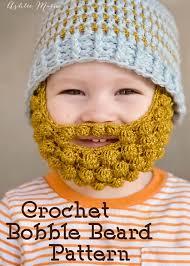 Thanksgiving Hats For Babies Crochet Bobble Beard Pattern Multiple Sizes Ashlee Marie