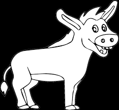 donkey printable bible coloring pages kids bible maps