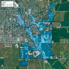 Illinois District Map by Tif District Maps U0026 Tables U2013 City Of Jerseyville