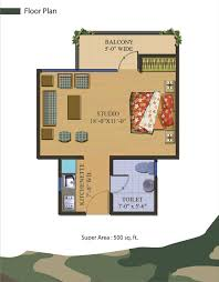 500 Sq Ft Studio Floor Plans House Plan 500 Sq Yards House Interior