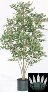 two 5 birch artificial trees silk plants in pot ltb324 johnny s