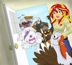 a goofy thanksgiving picture by fallenangel5414 on deviantart