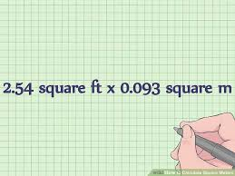 m2 to sq ft 3 simple ways to calculate square meters wikihow
