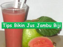 contoh teks prosedur membuat jus mangga tips cara membuat jus jambu biji youtube