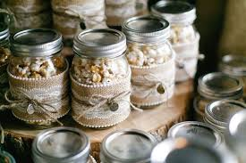 jar favors diy popcorn jar wedding favors