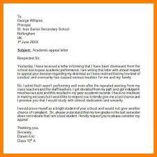 4 university appeal letter sample accept rejection