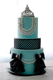 breakfast at tiffany u0027s first birthday cake