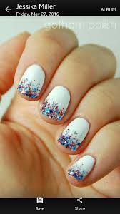 red white and blue nails nails i want pinterest blue nails