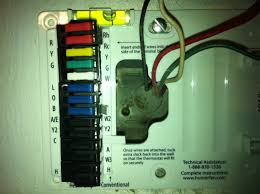 wiring a thermostat tech support forum