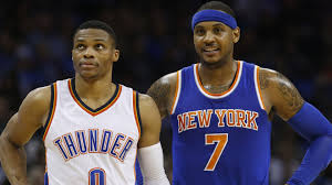 Carmelo Anthony Bench Press Report Knicks Agree To Trade Carmelo Anthony To Thunder Nbcs
