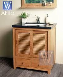 Teak Bathroom Vanity by 60