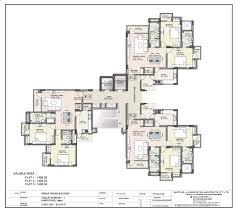 typical office floor plan valine