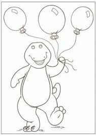 barney free coloring pages printable coloring pages