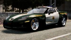 police corvette gta gaming archive