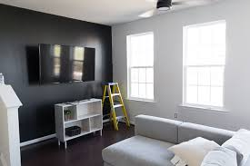 icy avalanche sherwin williams new house progress my tricorn black living room