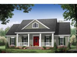 one level house plans with porch colonial house plan elegance square one level plans eplans