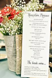 wedding reception program wedding reception program best 25 wedding reception program ideas