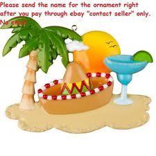 honeymoon cruise personalized ornament ebay