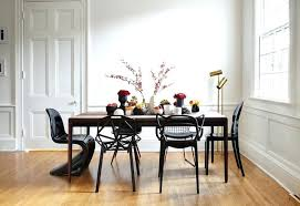 antique table with modern chairs mixing dining room chairs how to mix match your modern dining table