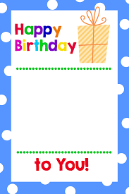 printable gift cards printable birthday gift card holders projects
