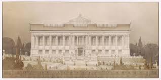 john galen howard drawings pinterest master plan architects